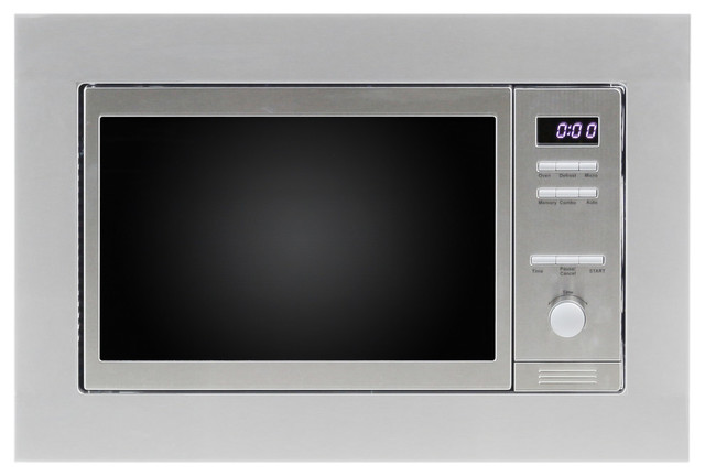 0.8 Cu. Ft. Built-In Combo Microwave Oven With Auto Cook And Memory Function..