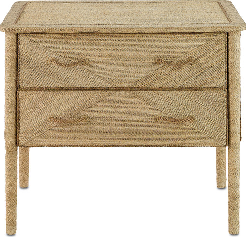 Kaipo Two Drawer Chest, Natural