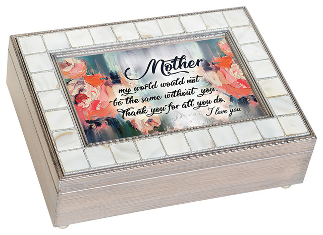Music Keepsake Box Mother Thank You I Love You Beach Style Decorative Boxes By New And Exciting Dicksons And Jozie B