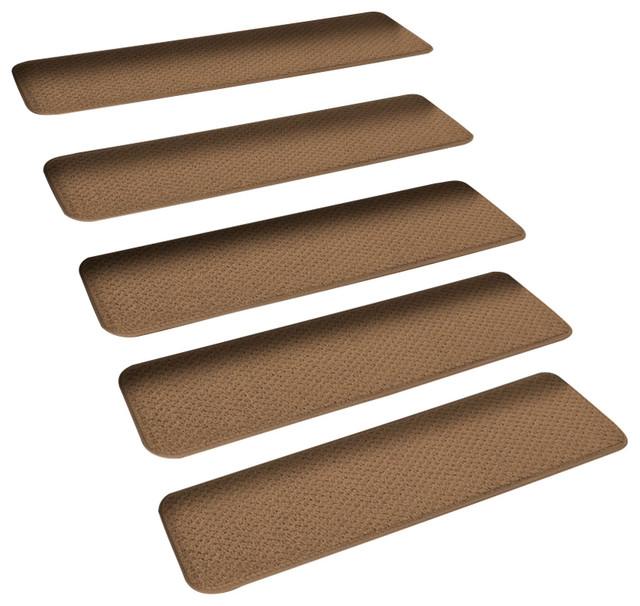 Dark Brown Slip Proof Stair Tread : Shop houzz house home more set of skid resistant