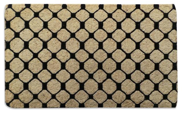 Geometric Designer Doormat Extra Thick & Geometric Designer Doormat Extra Thick - Contemporary - Doormats ...