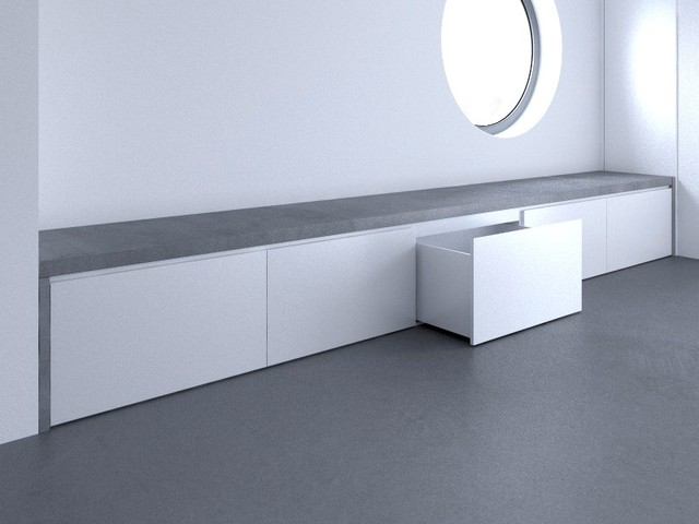 beton im badezimmer modern sonstige von arrangio gmbh. Black Bedroom Furniture Sets. Home Design Ideas