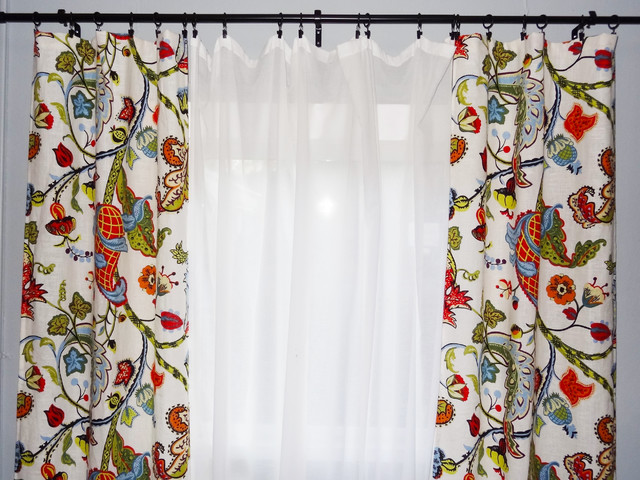 Sew a Pair of Easy Sag-Top Curtains