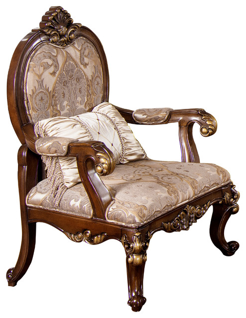 Winfrey Traditional Living Room Chair - Victorian ...