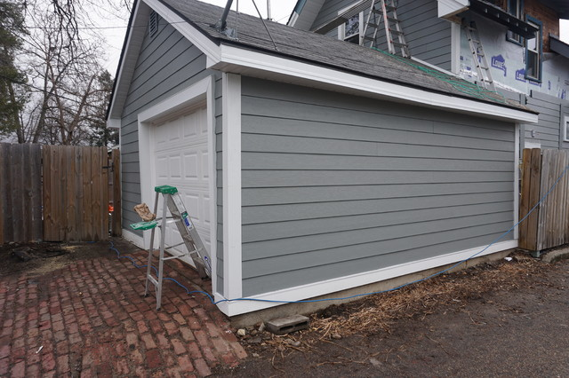 James Hardie Quot Gray Slate Quot Siding In Minneapolis Minnesota