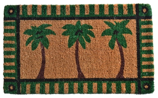 Palm Tree Coir Mat.