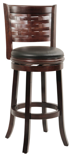 Dune Sumatra Swivel Bar Stool, Cappuccino.