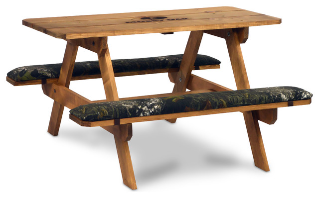Mossy Oak Break Up Picnic Table Rustic Kids Tables And