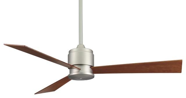 Fanimation Fp4620sn Zonix Satin Nickel 54 Ceiling Fan + Wall Control.
