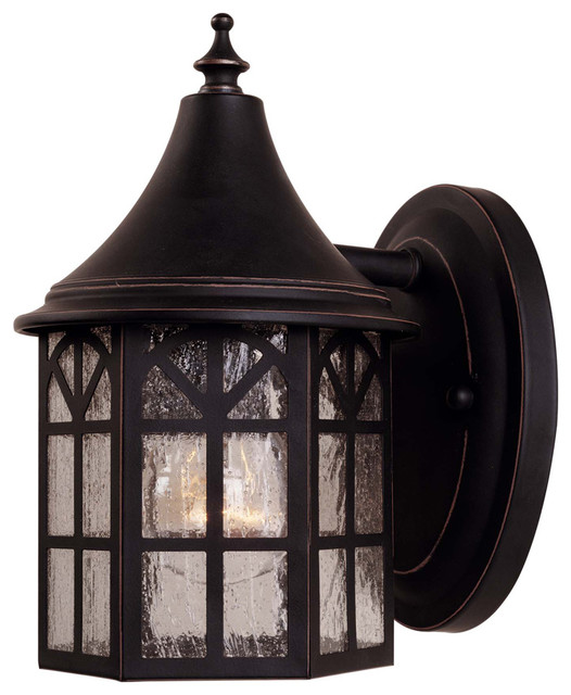 Commercial Lighting Manchester: Savoy House 5-8250-25 Manchester Wall Mount Lantern