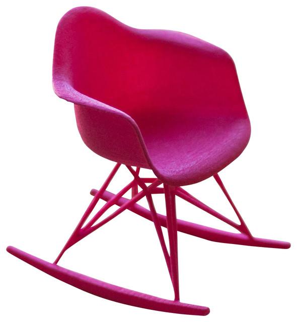3d printed miniature eames rocker chair modern home decor by
