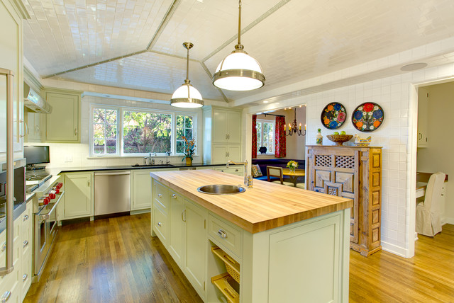 Spanish Revival Transitional Kitchen Other By