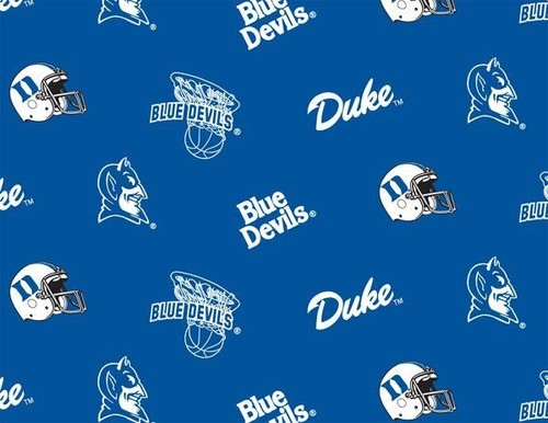 Duke Blue Devils Fabric