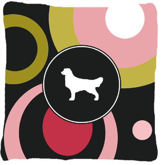Golden Retriever Decorative Canvas Fabric Pillow