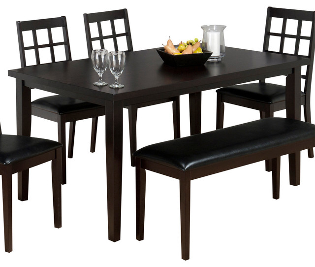 coventry rectangle dining table in espresso traditional dining tables
