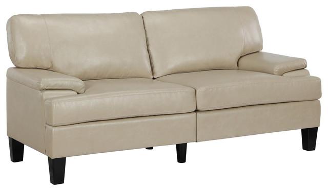 Dorel Living Tyrol Padded Arm Sofa