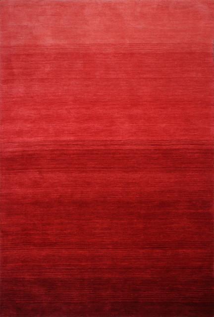 "Bashian Santa Barbara Red Area Rug, 8&x27;6""x11&x27;6""."