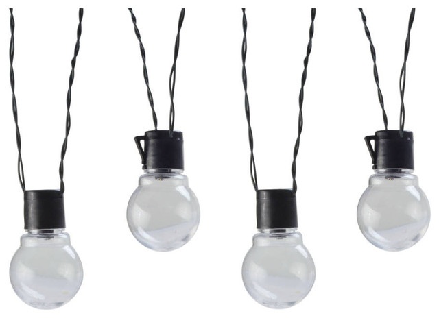 Solar Led Globe String Lights Traditional Outdoor Rope And String Lights