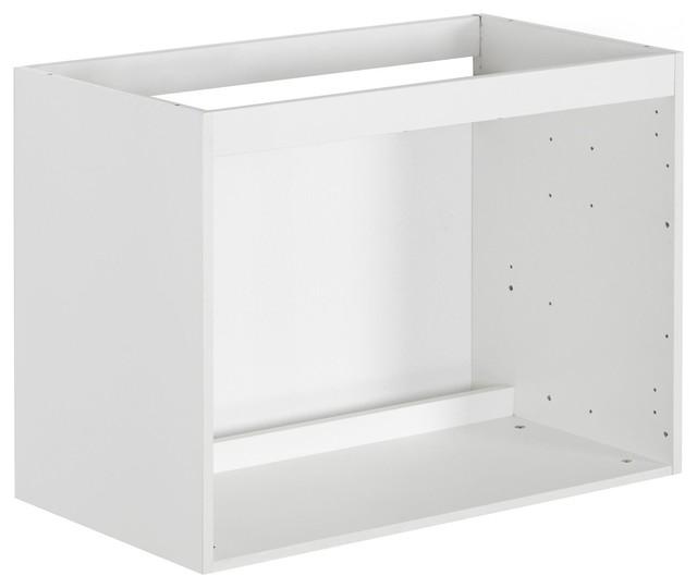 nexo caisson pour meuble sous vasque de salle de bains 80cm contemporain console et meuble. Black Bedroom Furniture Sets. Home Design Ideas