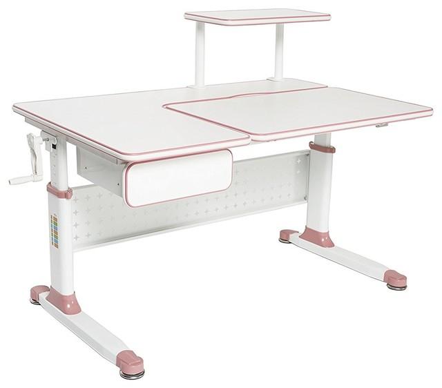 Little Soleil Children S Height Adjustable Study Desk Contemporary