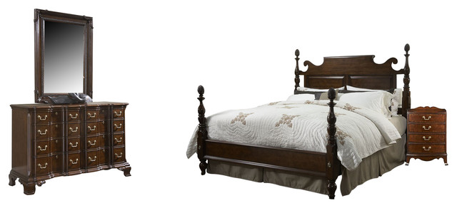 Fine Furniture Design American Cherry Bedroom Set Traditional Furniture By Bedroom
