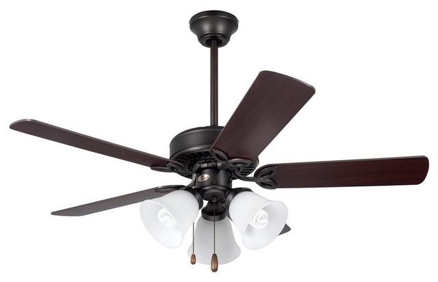 """Emerson 42"""" Pro Series Ii Ceiling Fan, Oil Rubbed Bronze, One Each."""