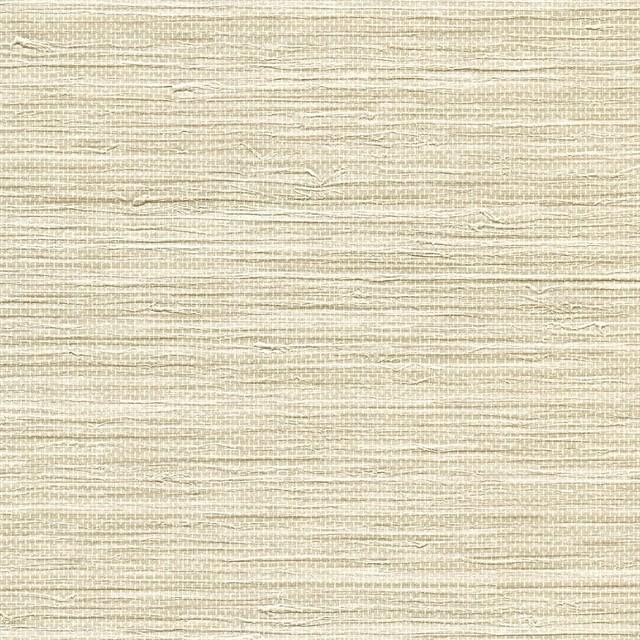 Faux Grasscloth Wallpaper: Viendra Cream Faux Grasscloth Wallpaper