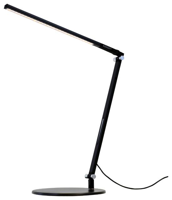 Coolest Desk Lamp z-bar solo mini led desk lamp with base, cool light, - modern
