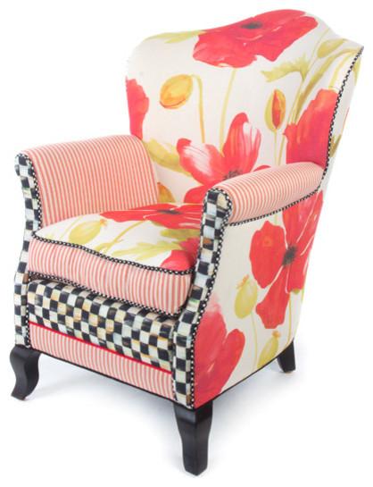 Poppy Parlor Chair | MacKenzie Childs