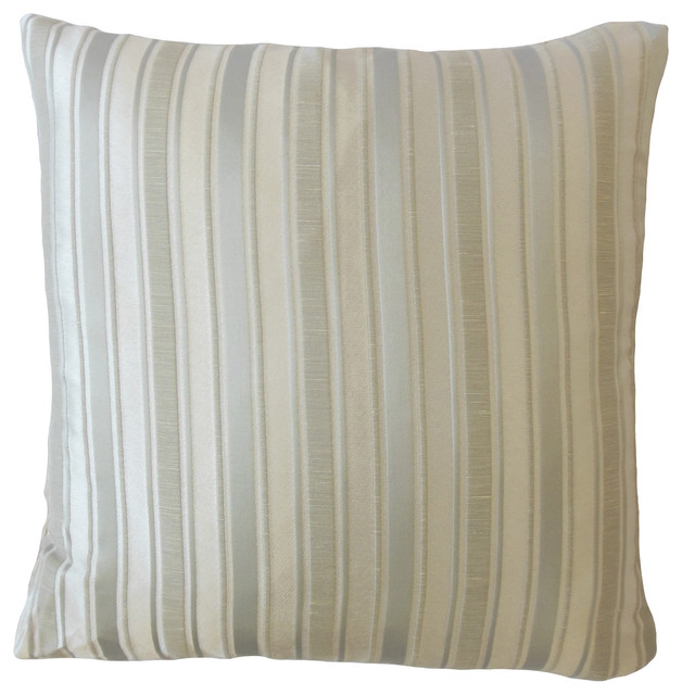 Tremendous Odile Striped Throw Pillow Silver 12X18 Gmtry Best Dining Table And Chair Ideas Images Gmtryco