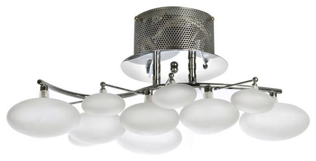 Finesse Lighting- Blanc Petit Oeuf- Chandelier.