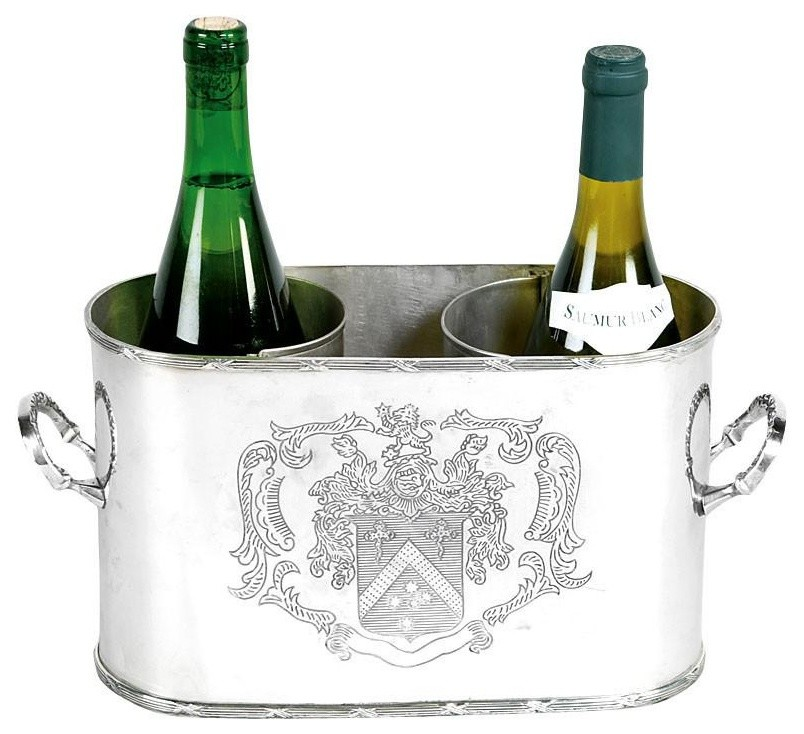 Stainless Steel Champagne Bowl in Black-CHAMPAGNE COOLER CHAMPAGNE SHELL Deco Celebration