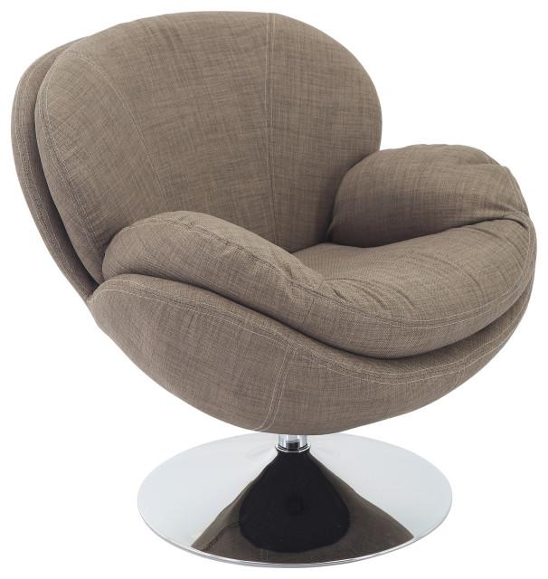 Relax-R Strand Leisure Accent Chair, Khaki Fabric