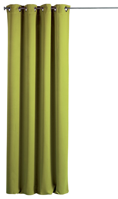 Evideco Blackout Window Curtain Panel Square Grommets Cocoon Solid Color 55 X102 View In