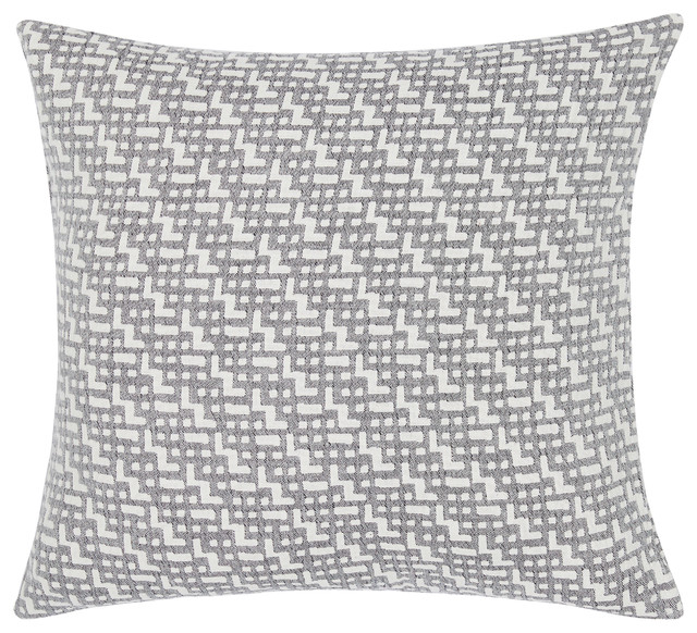 "Lund Stonewashed Cotton Pillow Cover, 20""x20""."