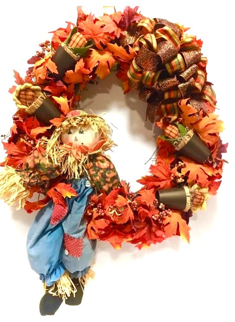 Fall Wreath Thanksgiving
