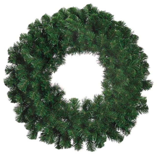 """30"""" Deluxe Windsor Pine Artificial Christmas Wreath, Unlit."""
