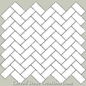 12x24 tile pattern/design