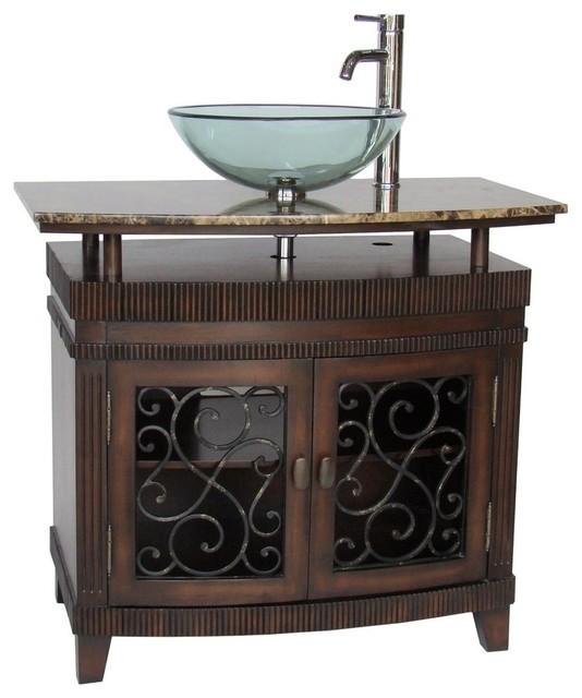 Mediterranean Bathroom Vanities And Sink Consoles.
