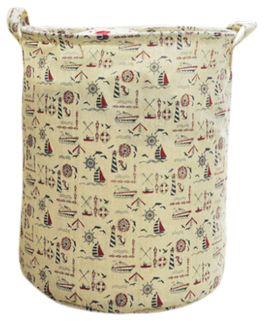 Household Folding Laundry Basket, Sailing.