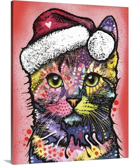 Kunst Cute Christmas Kittens Poster Wall Art Prints House Decoration Pictures Grassrootmarkmen Com