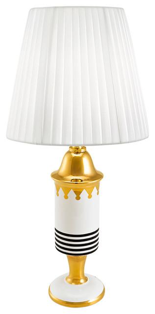 Ahura wax lamp dark blue transitional table lamps