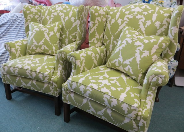 For the love of Wingback Chairs