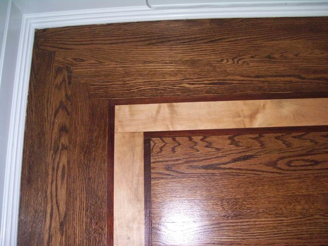 Hardwood borders and inlays traditional new york by Hardwood floor designs borders