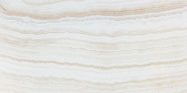 Hagia Sophia White Onyx Tile, Vein-Cut, 12x24, Polished Field Tiles, 20 Pieces.