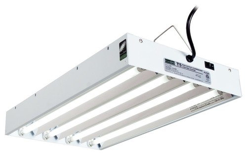 Hydrofarm 2' Four Tube T5 Fluorescent Light System