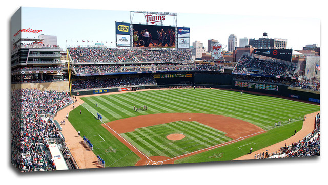 Minnesota Twins Target Field Mlb Canvas 36 Quot X20