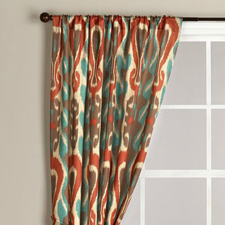 Red And Turquoise Shower Curtain.  How can I buy this curtain