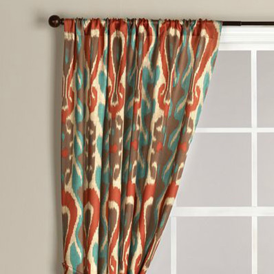 ikat dry sheers in brown pictures to pin on pinsdaddy orange and grey