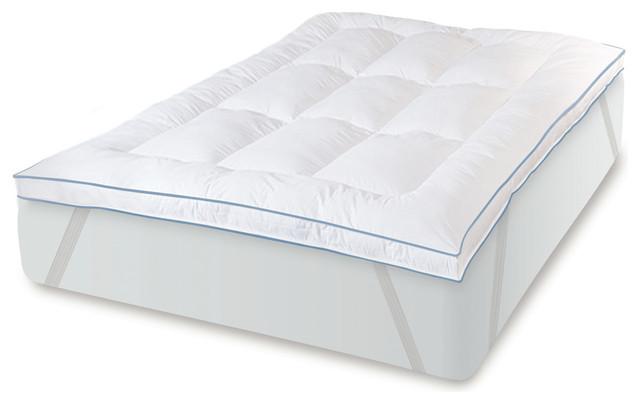 "MemoryLOFT Deluxe 3"" Gel-Infused Memory Foam and Fiber Bed ..."